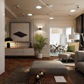 Проект квартиры | 97 м. кв.