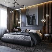 Спальня по дизайн проекту.