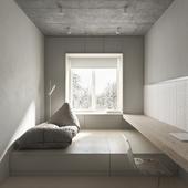 """Дизайн """"смарт-квартиры"""" в 22,79 м2"""