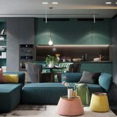 Contemporary apartment G/G/S