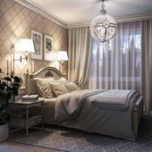 """Спальня """"Все включено"""" для пары в почтенном возрасте."""