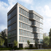 CGI:Office Building On Leninsky