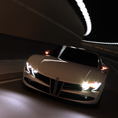 Концепт среднемоторного спорткара от BMW.