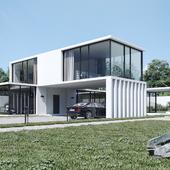 GlassB House