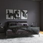 "Bedroom ""Eggplant"""