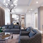 "Дизайн квартиры в ""ЖК Avalon Lux"""