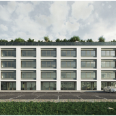 Реконструкция здания склада в Многофункциональный комплекс