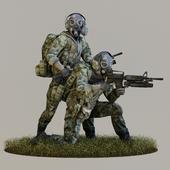 Модель солдата