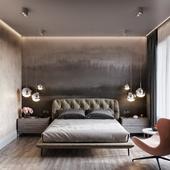 Спальня в Пресня Сити