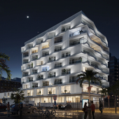 The Dyeji Building of the Bay of Luanda (сделано по референсу)