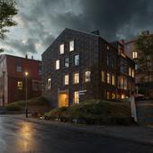 Residential building in Sweden / Full CGI