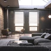 3d визуализация интерьера / 3d visualization of interior