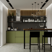 Modern kitchen Europe