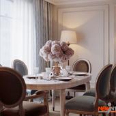 Гостиная в Пушкине для пары средних лет
