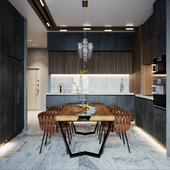 Apartment for a small family