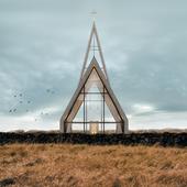 Minimalist church in Iceland