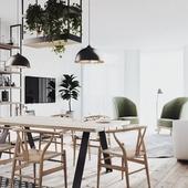 Scandinavian flat in Kyiv
