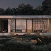 Концепция жилого дома для молодой семьи.