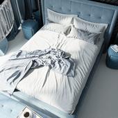 Спальня в высотке Москвы