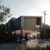Privat house visualization