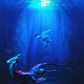 Спасение из глубин темного моря
