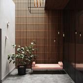 Modern interior (сделано по референсу)