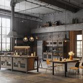 Various Loft Kitchen Designs