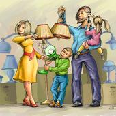Семья, электрики.