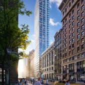 Skyscraper in New York