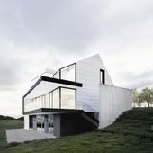 Modern house in Sweden (сделано по референсу)