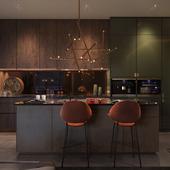 A136 HIGHLIGHT HOUSE APARTMENT INTERIOR DESIGN. KIEV, UKRAINE