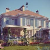 Дом_в_стиле_прованс