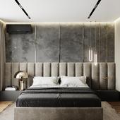 Лаконичная спаленка