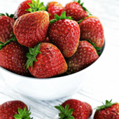 3D Strawberry CGI