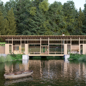 The lake house (сделано по референсу)