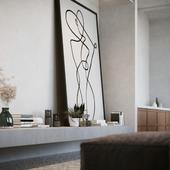 визуализация интерьера в Берлине