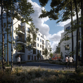 Residential building in Berlin, Germany