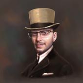Портрет мужчины по имени Реми