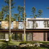 MODERN HOUSE ANIMATION. MOPS Villa