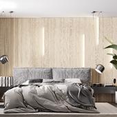 Спальня в современном стиле.