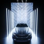 BMW 850i / Выполнено по референсу