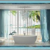 Ванная комната. Маями.
