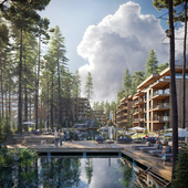 Residential building in Switzerland/ Full CGI