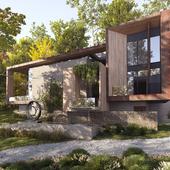 современный дом в США