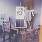 Мастерская одного художника