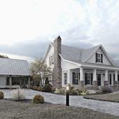 Загородный дом США