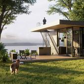 Lake House (сделано по референсу)