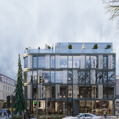 Layout office building in Lviv
