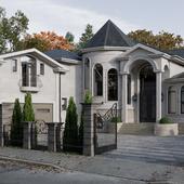 Частный дом в классическом стиле