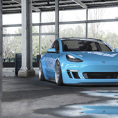 Tesla Model 3 Widebody